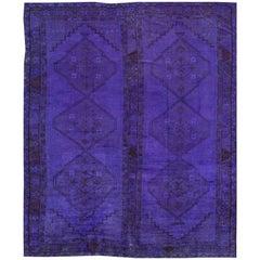 Antique Overdye Khotan Rug