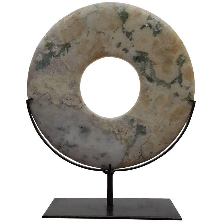 Sopanite Stone Disk - A 1