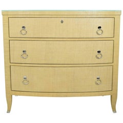 Chest of Drawers in Grasscloth by Thomasville