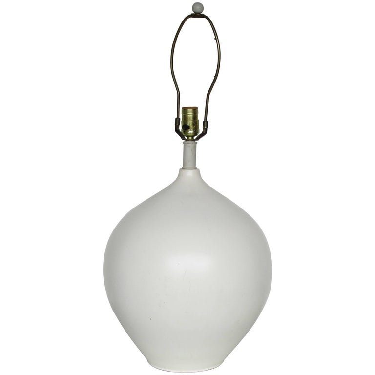 Ceramic Lamp style Jean Michel Frank
