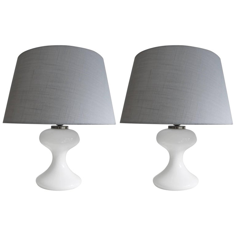 Pair of Ingo Maurer Table Lamps, Germany, 1970s