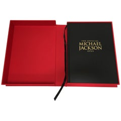 Michael Jackson Opus Large Collector Table Book