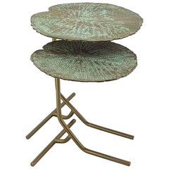 Lotus Leaves Side Table Set of Two