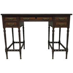 Collinson & Lock, Attri to E W Godwin, A Fine Quality Rosewood Writing Table