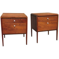 Paul McCobb Vintage Nightstands End Tables Grand Rapids Collection Widdicomb