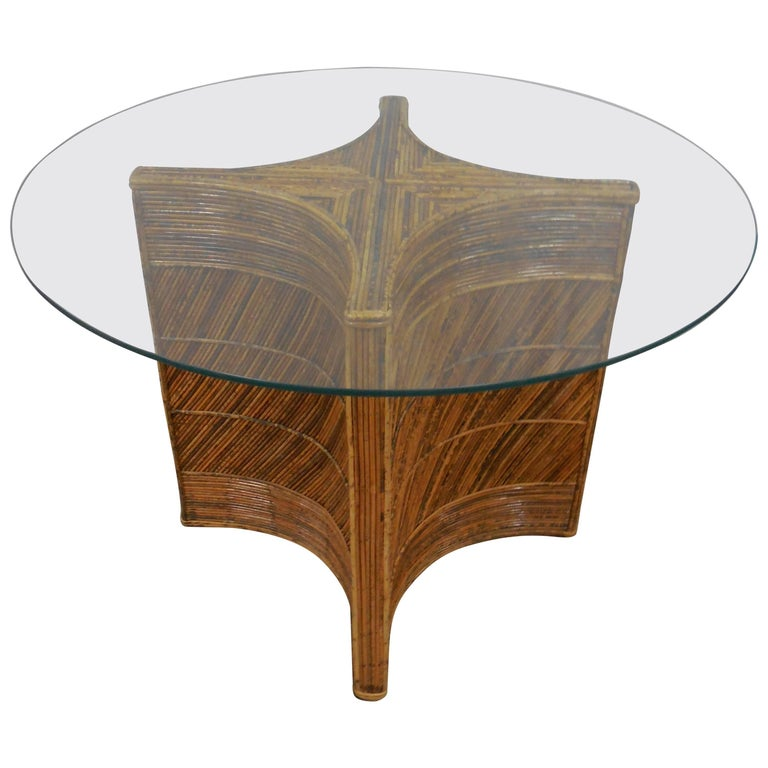 Vintage Bamboo Table 1
