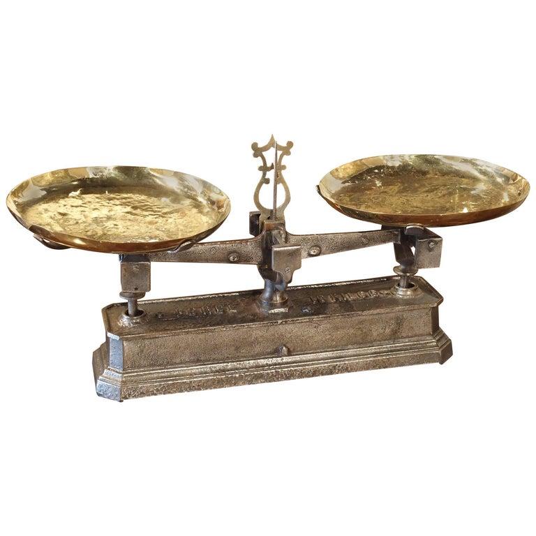 Antique French 10 Kilo Scale, circa 1910