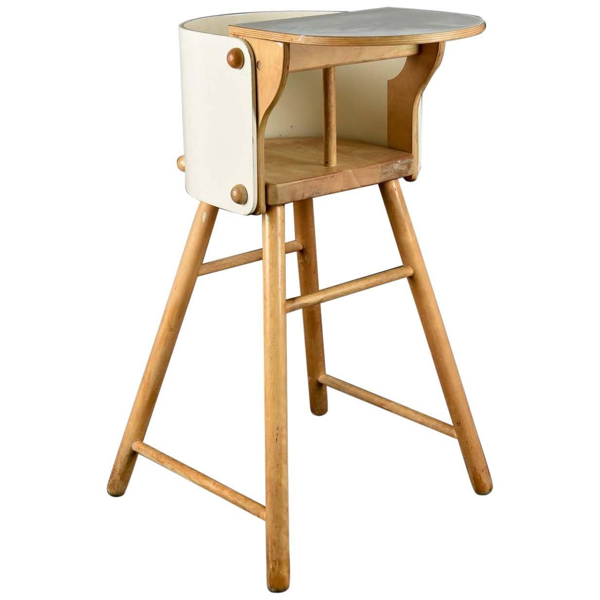 Exceptionnel Ben Af Schulten For Artek Model 616 Childu0027s High Chair, 1960s