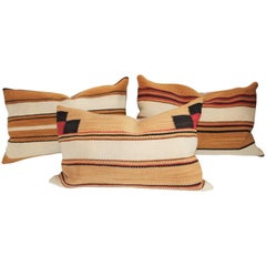 Navajo Indian Weaving Pillows / Collection of Three