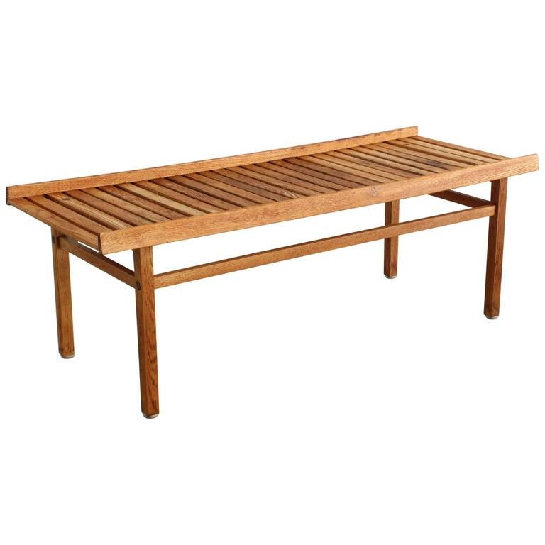 Swedish Slatted Bench For Sale At 1stdibs