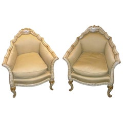 French Art Deco Chairs in the Style of Paul Follot