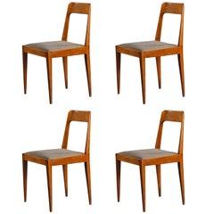 Two Chairs by Carl Auböck Manufacted by Österreichische Werkstätten