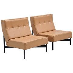 Wim Den Boon Modernist Lounge Chairs, Holland, 1965