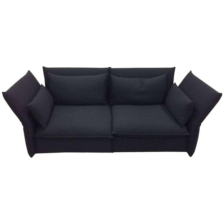 "Sofa ""Mariposa"" by Manufacturer Vitra in Metal Finished with Fabric"