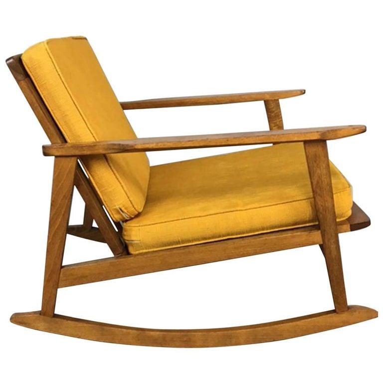 Rocker Lounge Chair at 1stdibs