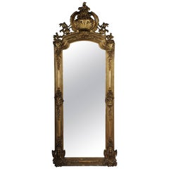 Antique Historism Mirror, circa 1870