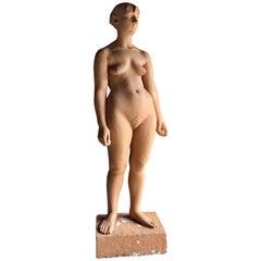 Lifesize Female Nude Sculpture by Karin Jonzen British Artist