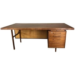Executive Desk in Walnut