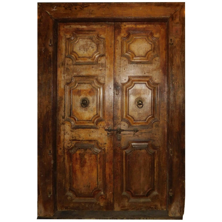 Antique Double Door For Sale - Antique Double Door At 1stdibs