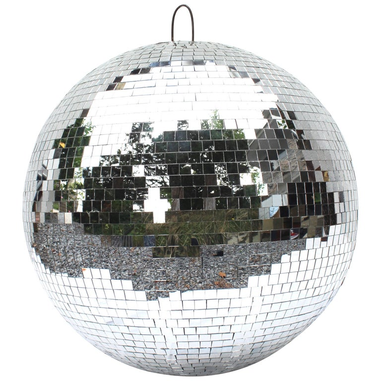 Large Vintage Disco Ball For Sale