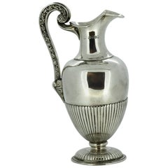 Small Victorian Silver Jug, London, 1871