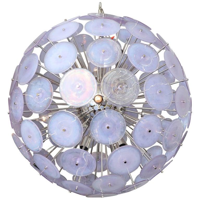 Giant Murano Glass Disc Sputnik