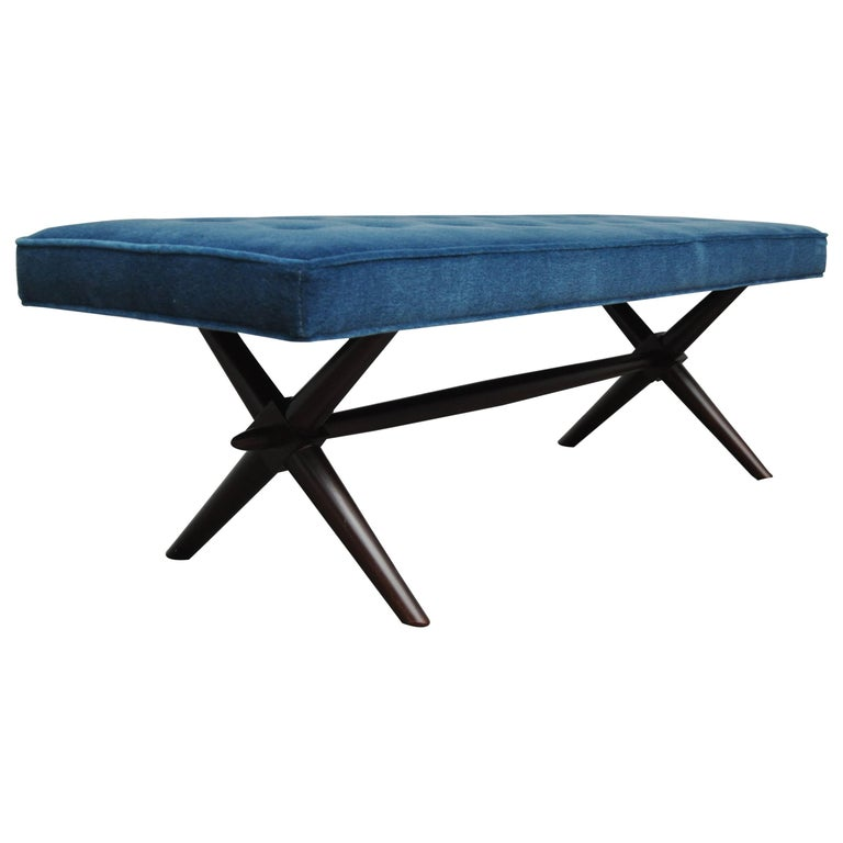 T.H. Robsjohn-Gibbings X-Base Bench