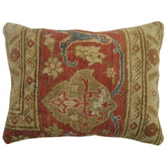 Tabriz Border Rug Pillow