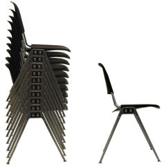 20 Stacking Chairs by Don Albinson for Knoll International