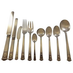 San Lorenzo by Tiffany and Co Sterling Silver Flatware Service Set 131 Pieces