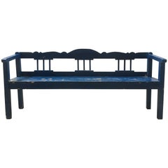 19th Century European Bench