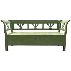 Antique 19th Century European Bench