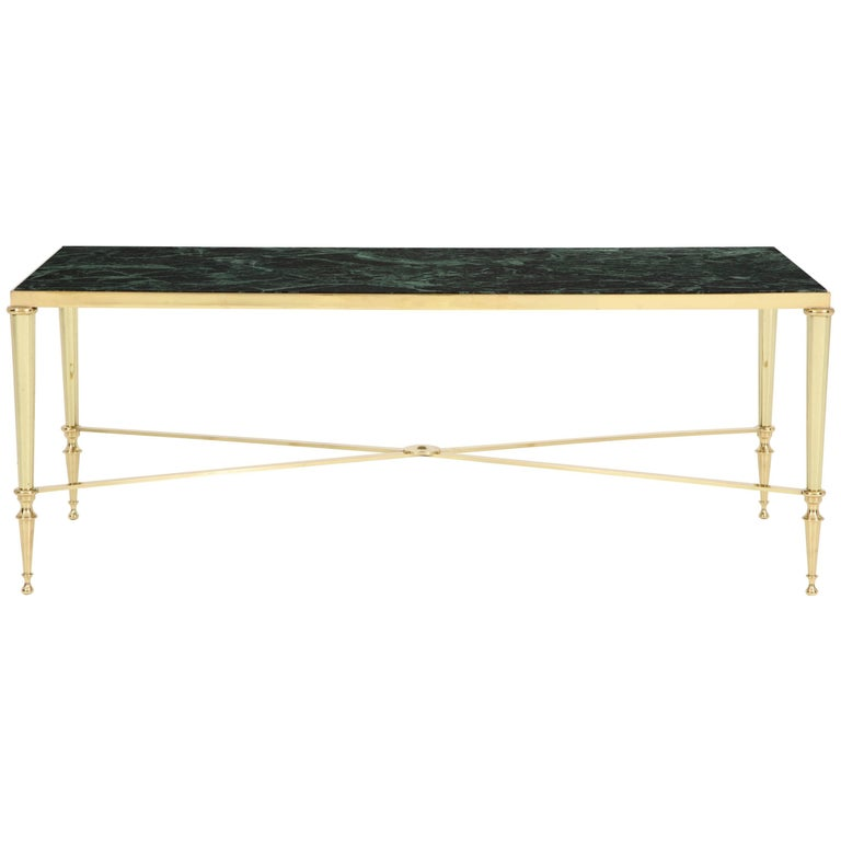 French Directoire Style Bronze Coffee Table