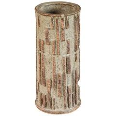 Mid-Century Brutalist Art Pottery Vase