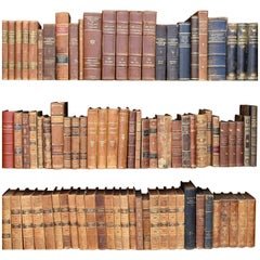 Early 20th Century and Earlier Danish Leather Bound Books