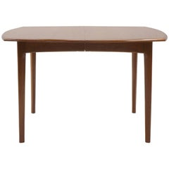 Small to Large Expandable Teak Dining Table by H. W. Klein for Bramin