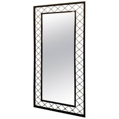 """Mirror in the Style of Jean Royère """"Tour Eiffel"""" Inspired"""