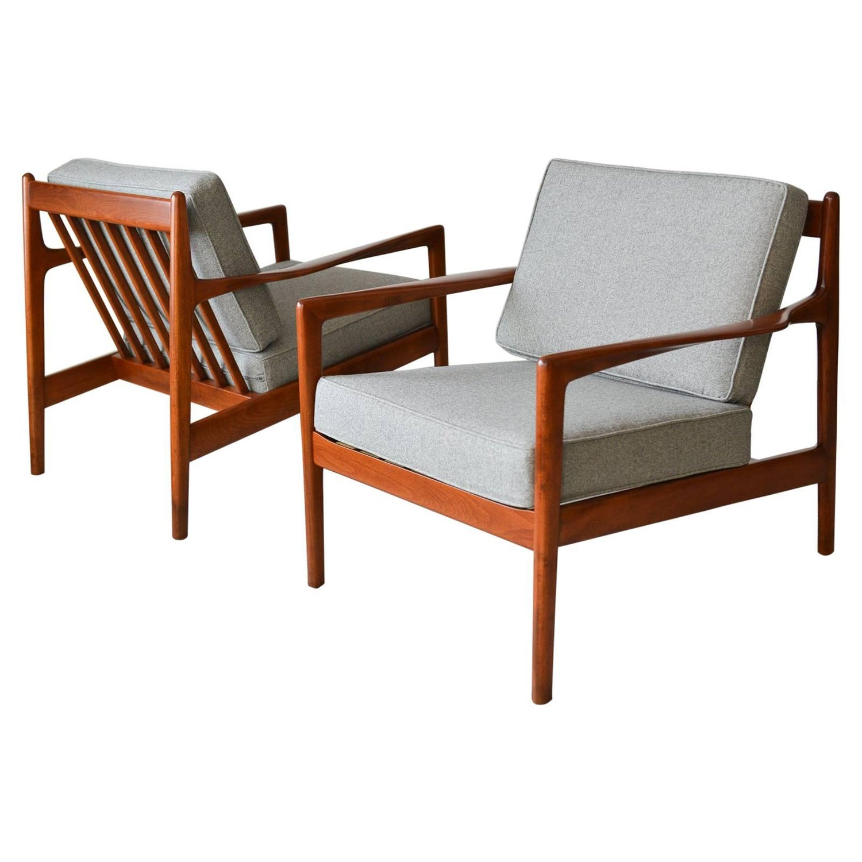Vintage Scandinavian Modern Lounge Chair by Folke Ohlsson for DUX