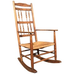 Cotswold School Rocking Chair Designed by E Gimson and Made by Edward Gardiner