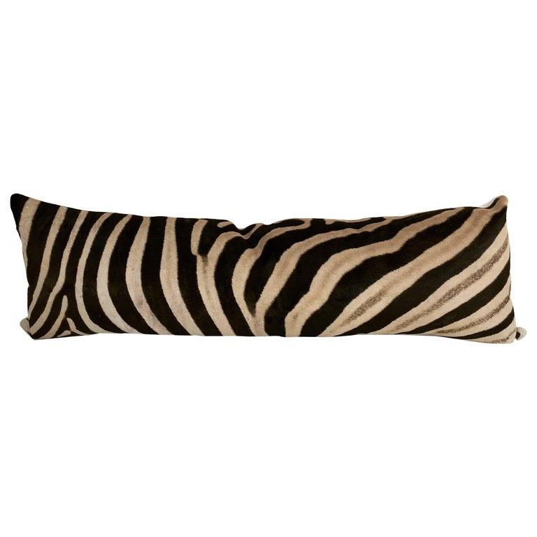 Forsyth Luxury Zebra Hide King Pillow
