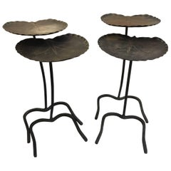 Two Sets of Salterini Lily Pad Nesting Tables