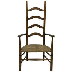 Liberty and Co., a High Back Nursing or Bedroom Ladder Back Armchair