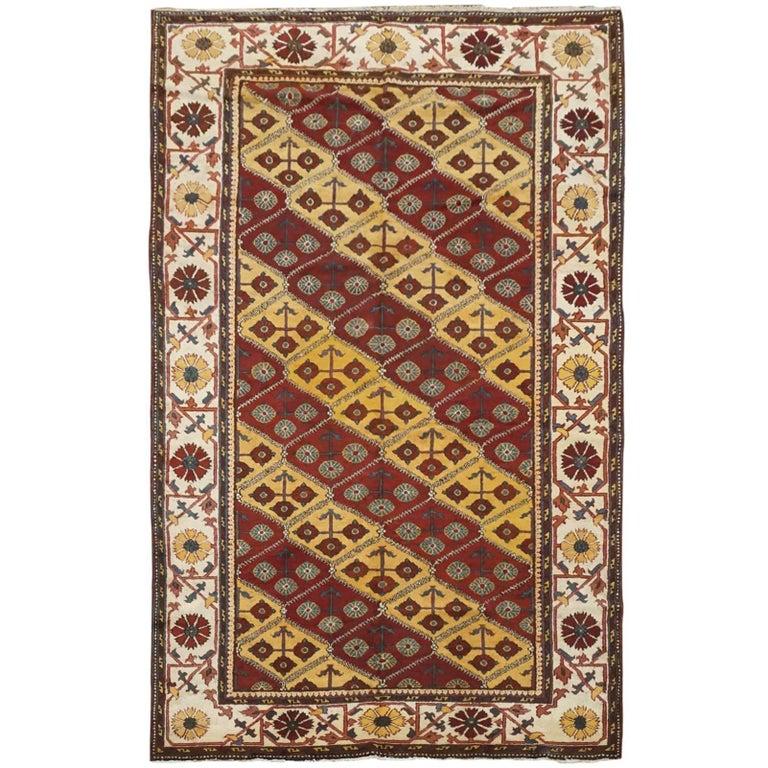 Antique Indian Agra Rug, circa 1880