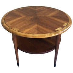 Mid-Century Modern Lane Acclaim Round End Table