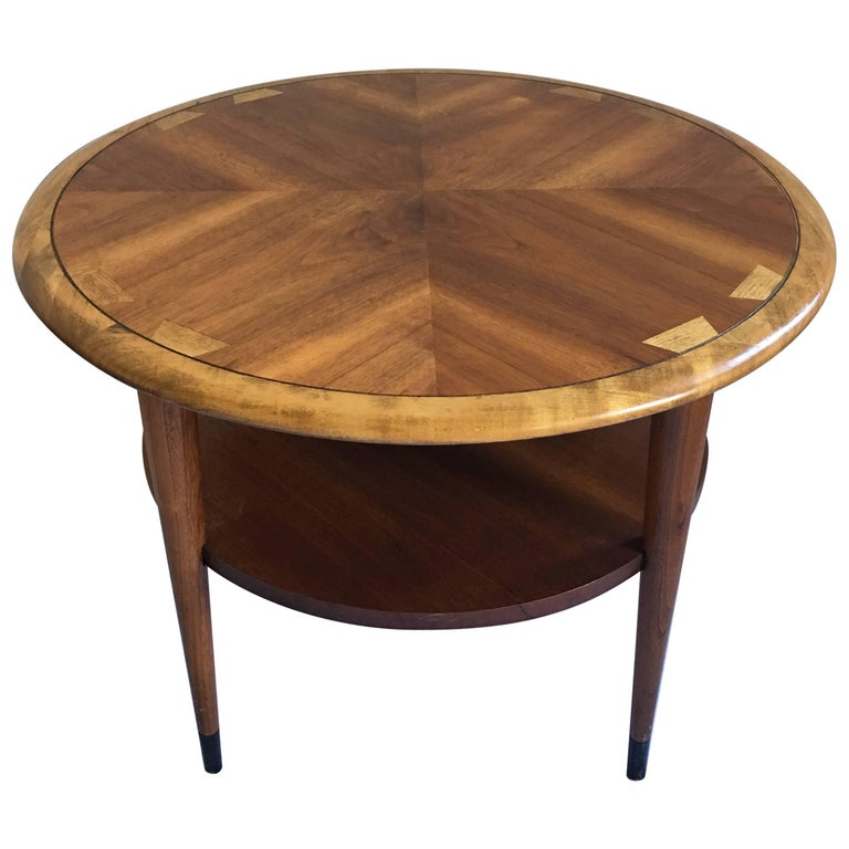 Mid Century Modern Lane Acclaim Round End Table For Sale At 1stdibs