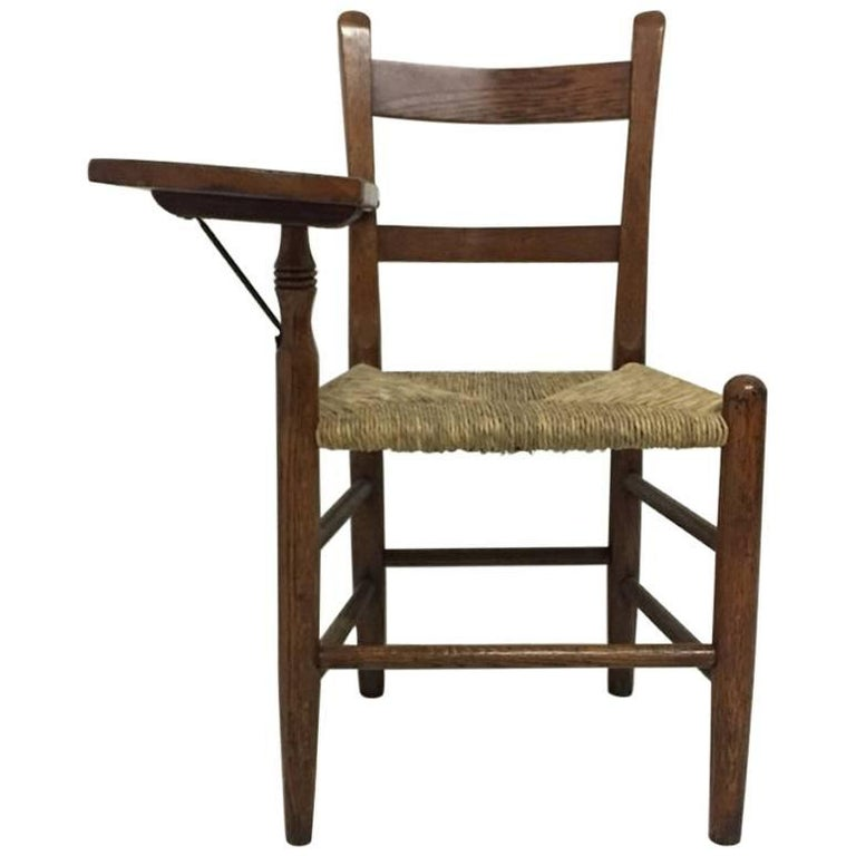 William Birch, Artist's Sketching Armchair with a Shaped Top for Working on For Sale