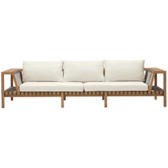 Roda Network 130 Outdoor Teak Sofa