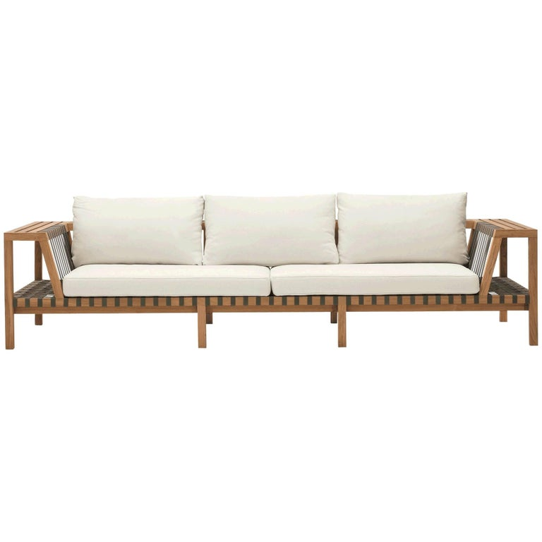 Roda Network 130 Outdoor Teak Sofa For