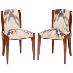 Dominique, Pair of Chairs, France, 1935