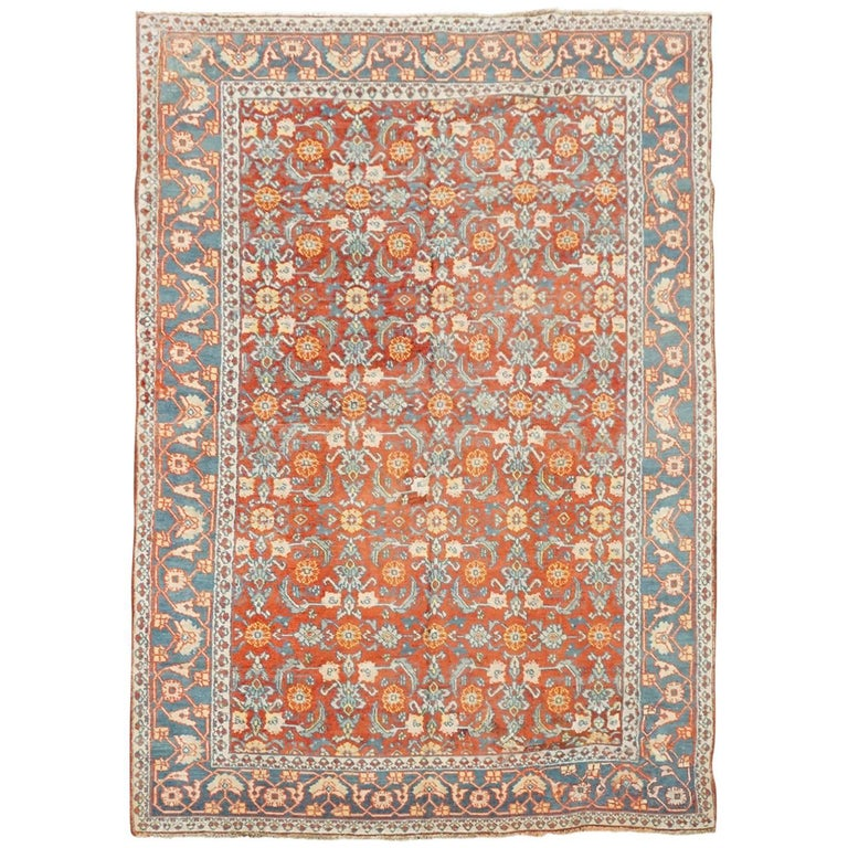 1920s, Antique Indian Cotton Agra Rug For Sale At 1stdibs
